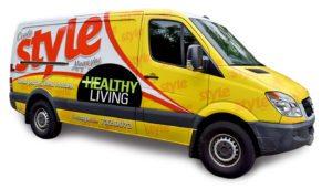 Ocala Style Delivery Van