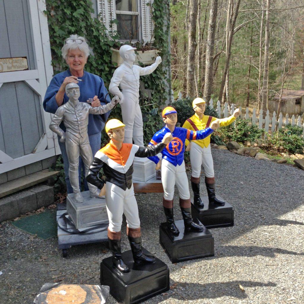 Equine artist Carol Moore Demme