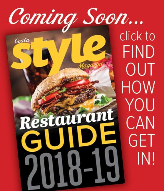 Restaurant Guide 2018-19 ADVERTISE