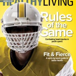Healthy Living September 2018 Cover